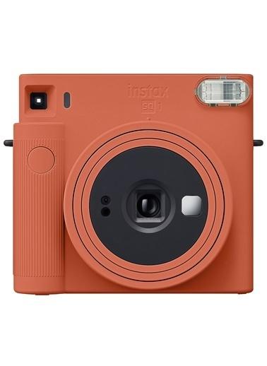 Fujifilm Instax SQ1 Terracotta Turuncu Fotoğraf Makinesi Mavi